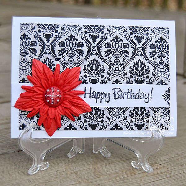 Simple Elegant Birthday Card