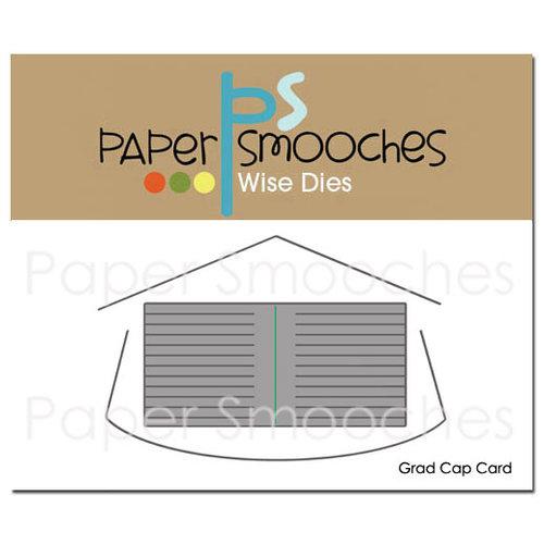 Paper Smooches Grad Cap Card Dies