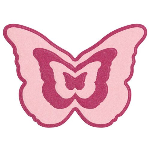 Crafts - Quickutz - Die Cutting Template - Nesting Butterfly - butterfly template