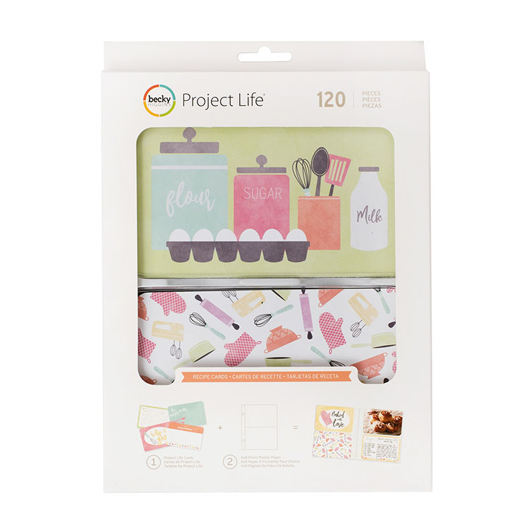 Becky Higgins Project Life Recipe Card Value Kit