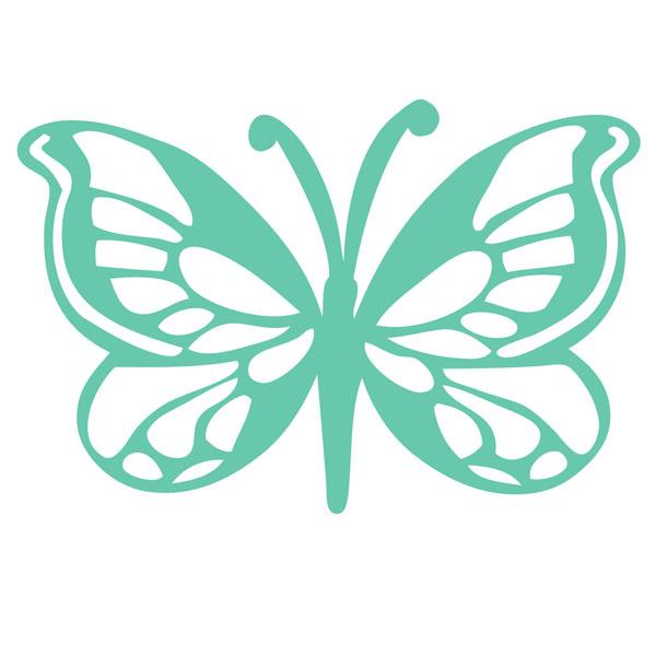 Kaisercraft - Stencils Template - Butterfly - butterfly template