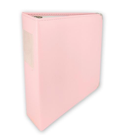 Classic 3 Ring Memory Album - 85x11 - Pale Pink