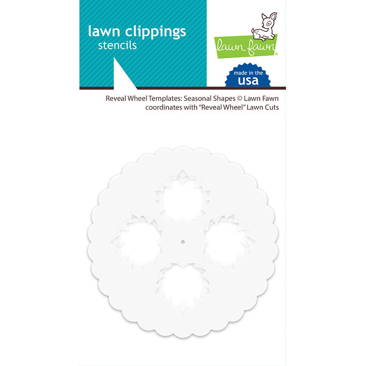 Lawn Fawn Season Shapes Reveal Wheel Templates