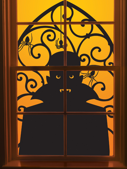 Simple Wallpapers Colors Fall Martha Stewart Crafts Halloween Window Clings Vampire