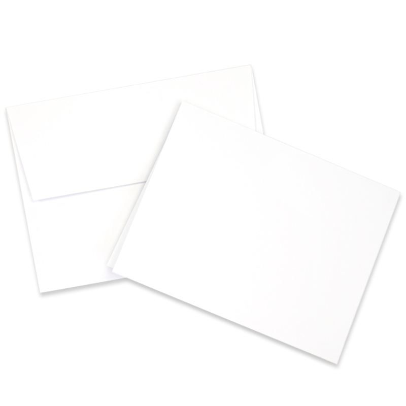 Neenah - White Cards and Envelopes - 25 Pack