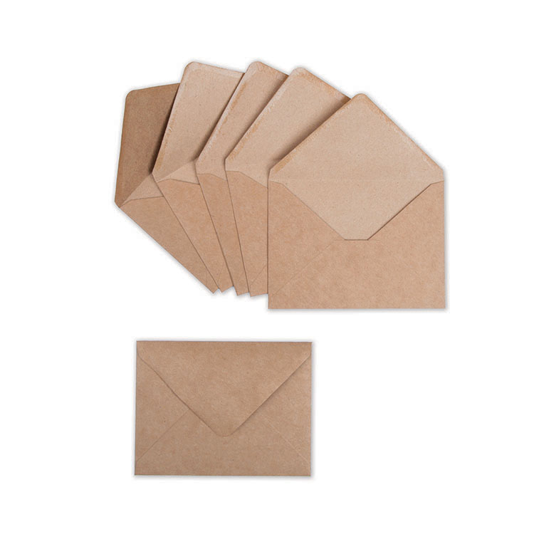 Sizzix Envelope Liners A2 and 6 Kraft Envelopes - envelope a2