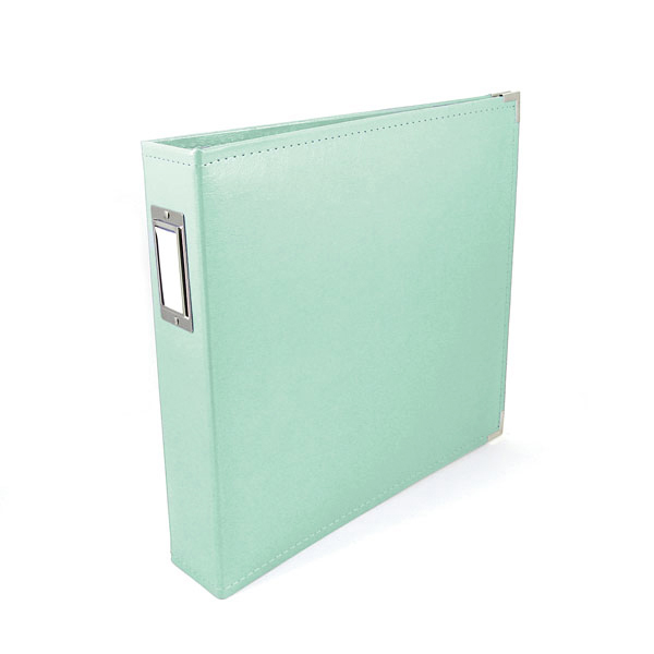 We R Memory Keepers - Classic Leather - 85 x 11 - Three Ring Albums - Mint