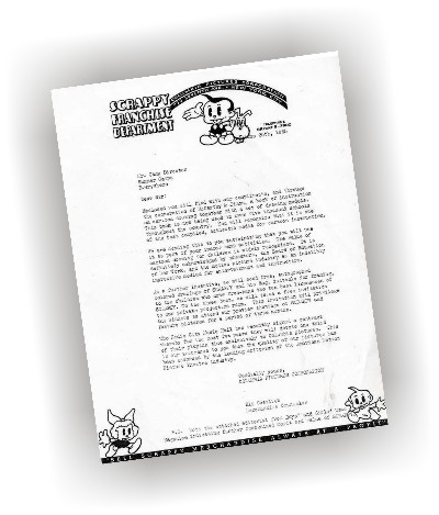Scrappy's letter to camp directors