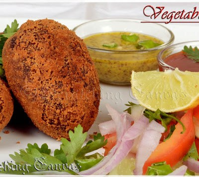 Bengali Vegetable Chop/ Beetroot Cutlet : Winter & Monsoon's Instant Hit