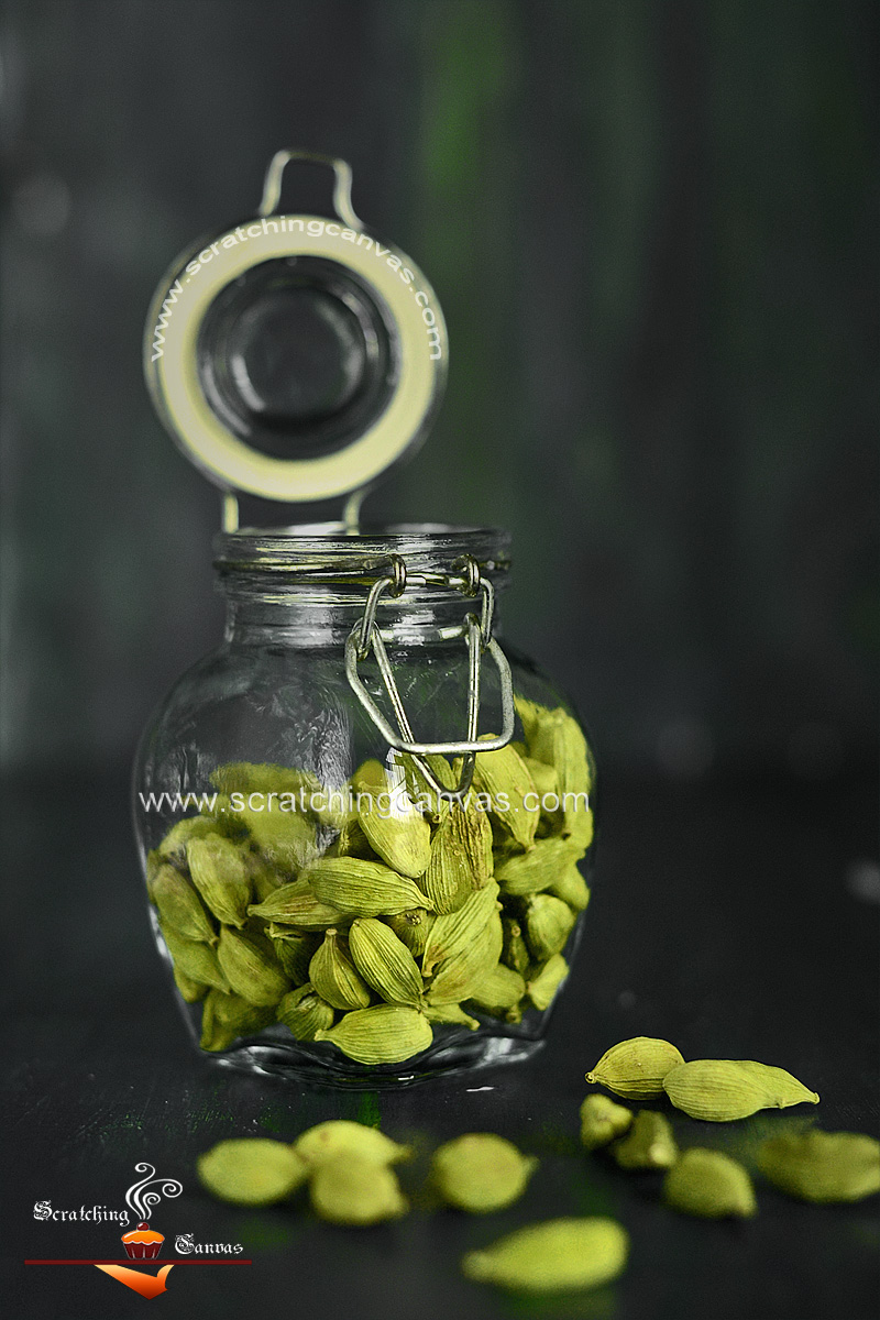 Green Cardamom Food Photography