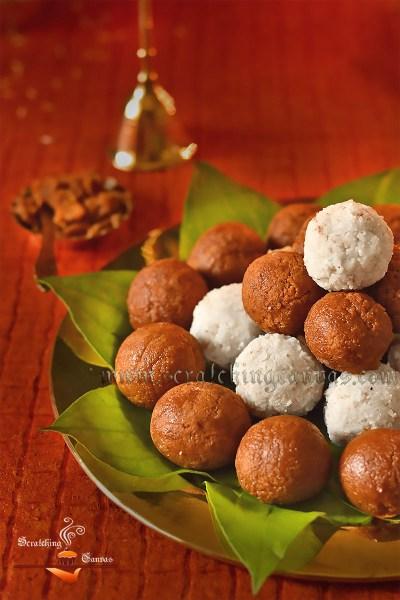 Narkel Naru | Narkol Naru | Coconut Laddu | Janmashtami Recipe