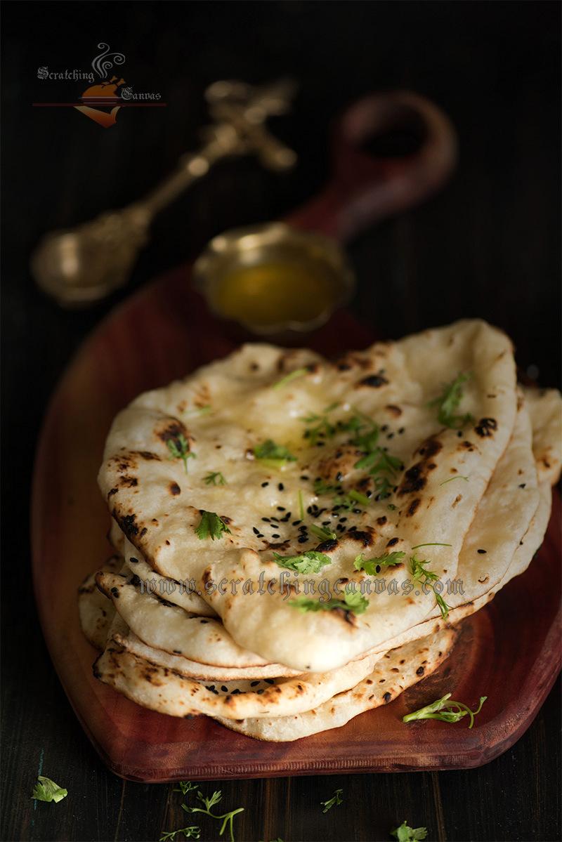 Homemade tawa naan yeast free vegan naan eggless naan tawa naan recipe forumfinder Images