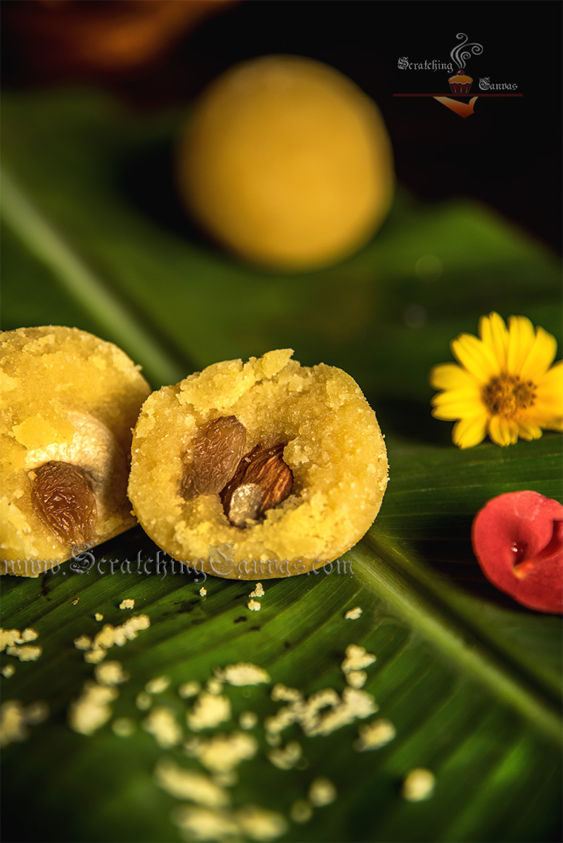 Moong Dal Ladoo Food Photography Styling