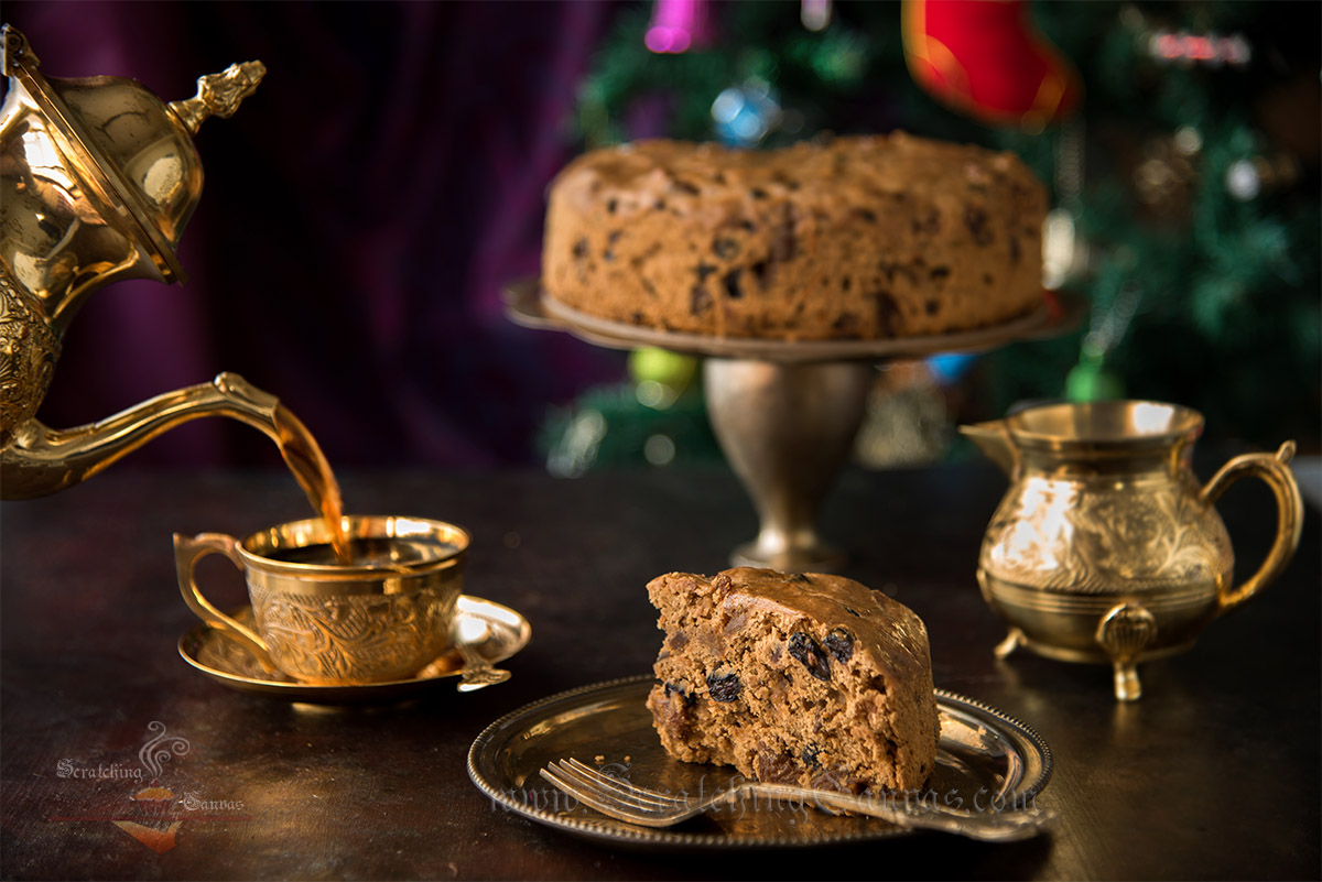 No Alcohol Fruit Cake Bara Brith Welsh Tea Cake Food Photography Styling