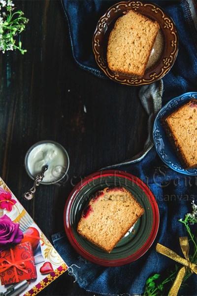 Strawberry Tea Cake | Buttermilk Sponge  …