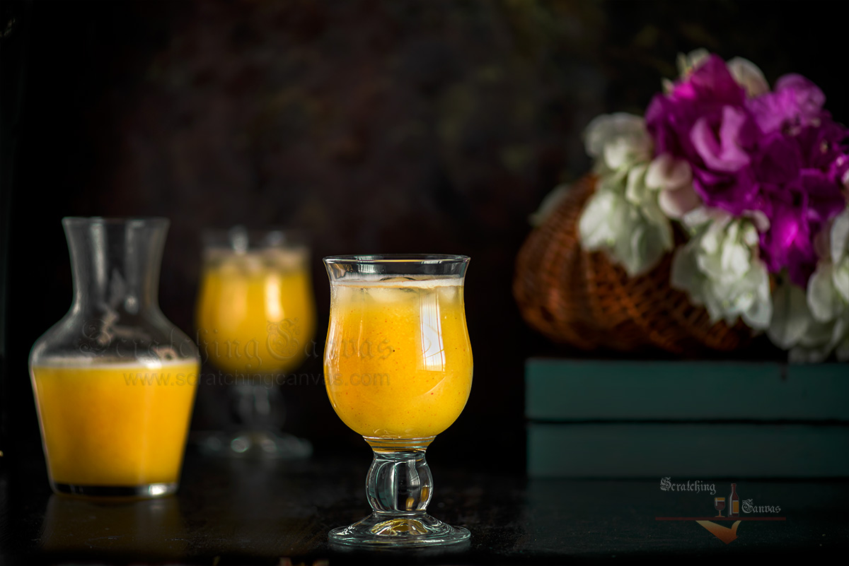 Bengali Mango Panna Food Photography Styling