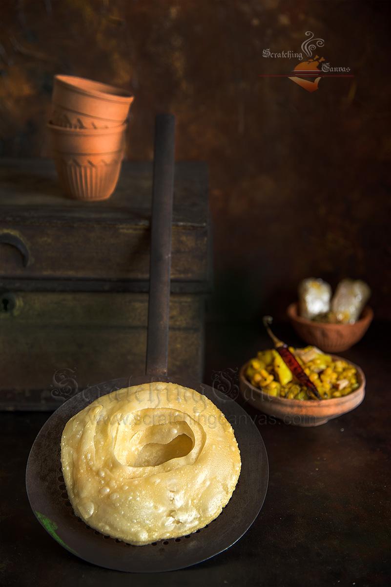 Dhakai Paratha Bengali Food Photography Styling