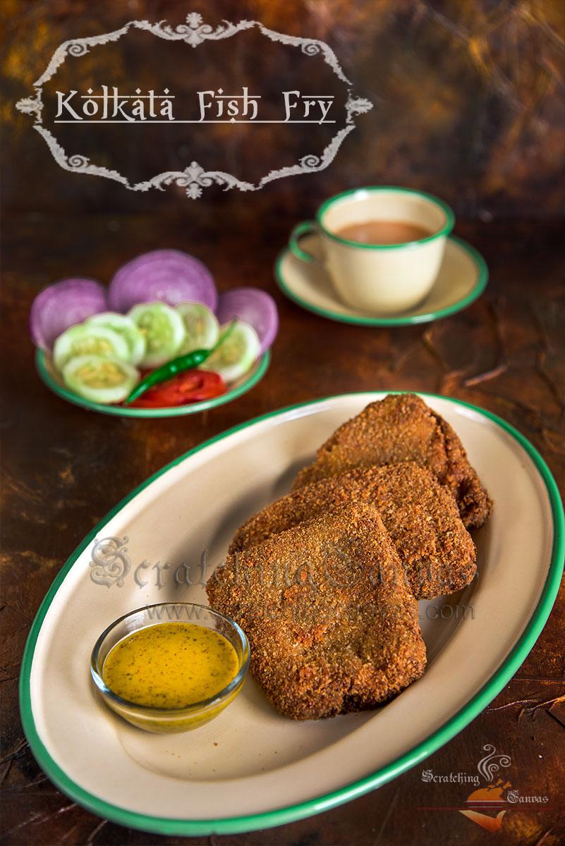 Kolkata fish fry bengali style fish fry famous kolkata street kolkata fish fry recipe video bengali forumfinder Choice Image