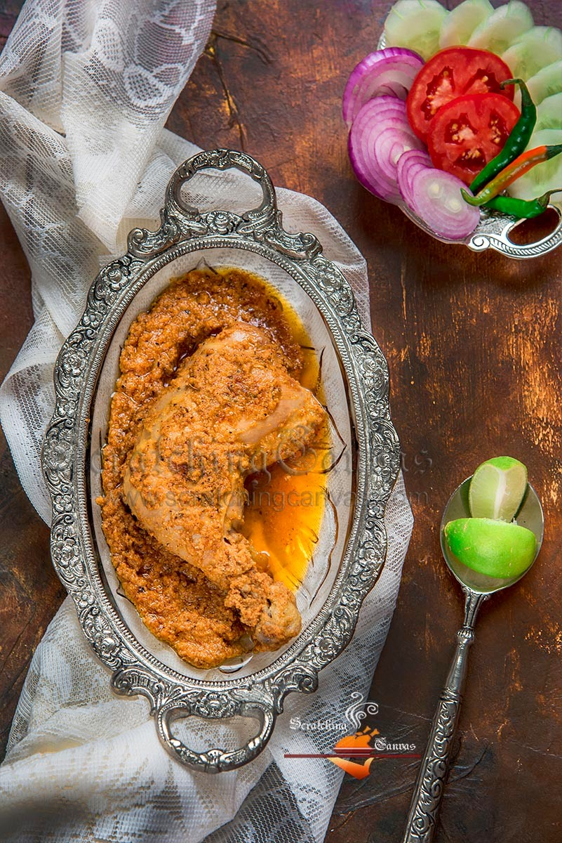 Arsalan Chicken Chaap Food Photography Styling