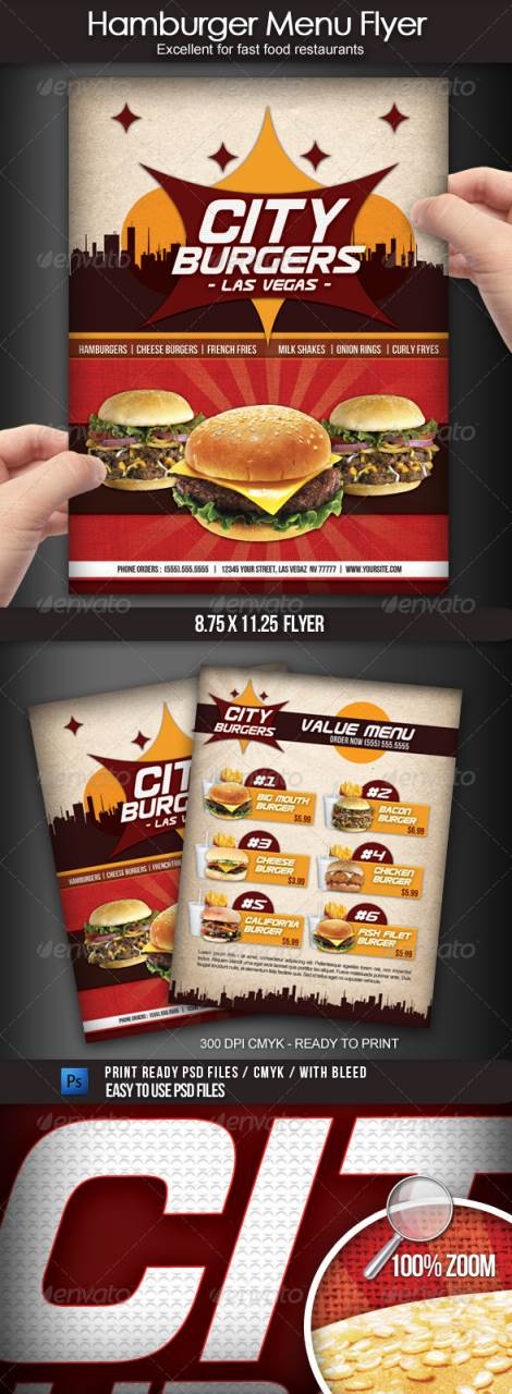 45+ Best Restaurant and Food Flyer Templates