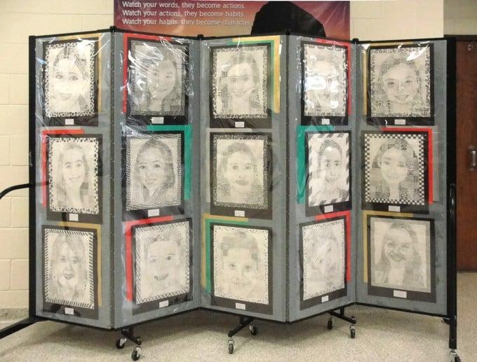 Amazing Art Display Panel Walls Screenflex Portable Dividers