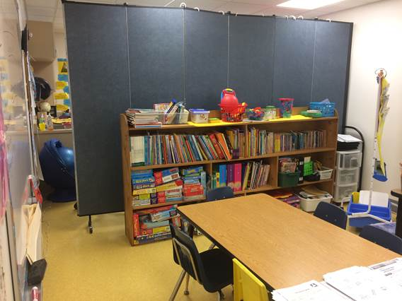 Temporary Classroom Dividers Doubles Classroom Space Screenflex