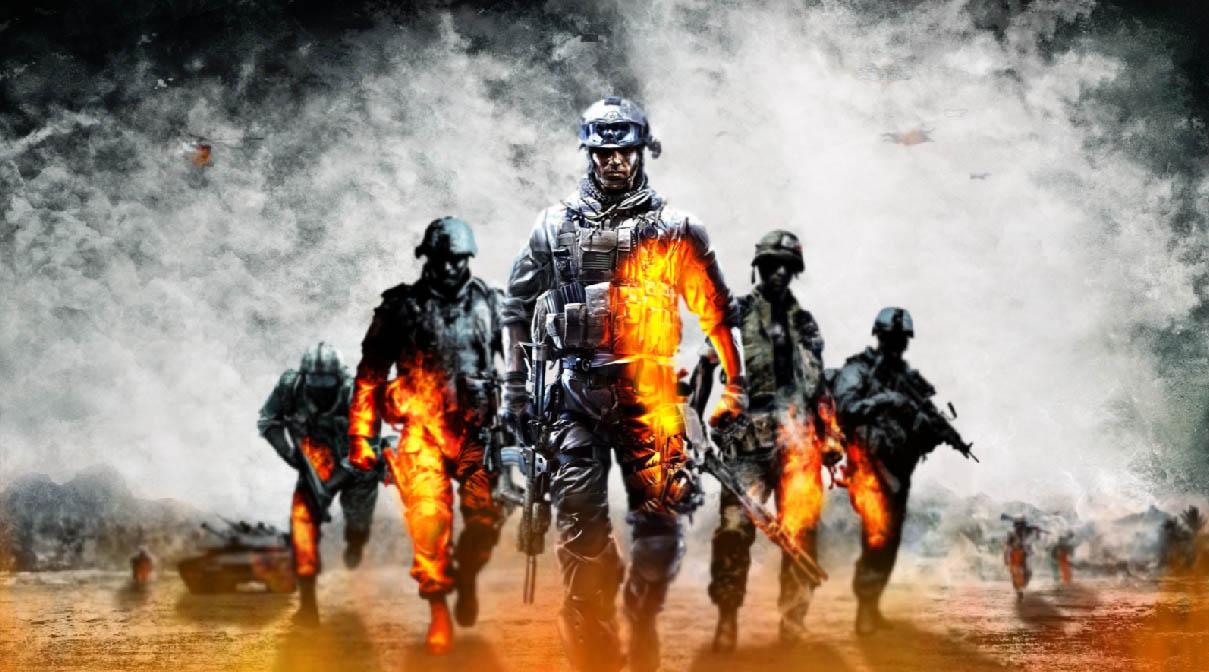 Battlefield Screensaver