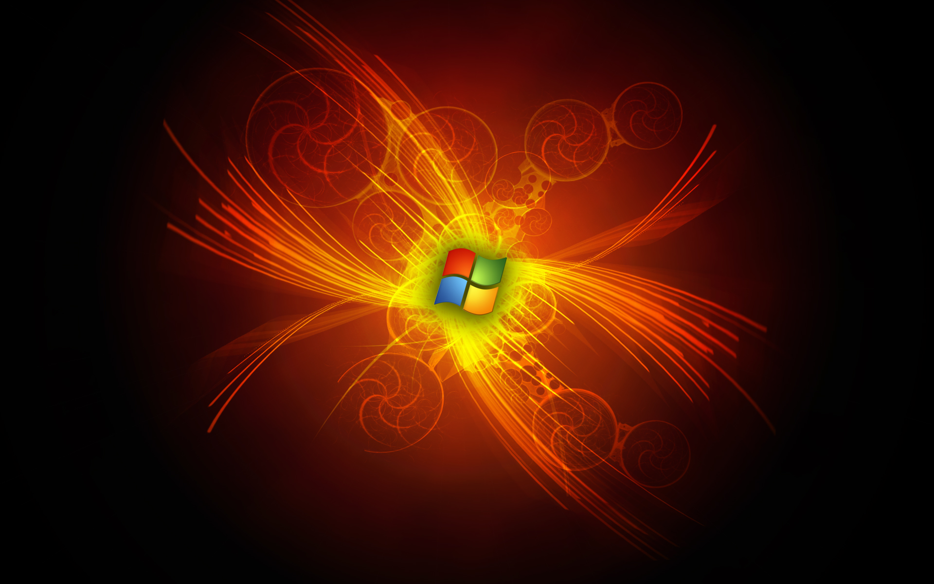 Windows 7 Black Edition Screensaver