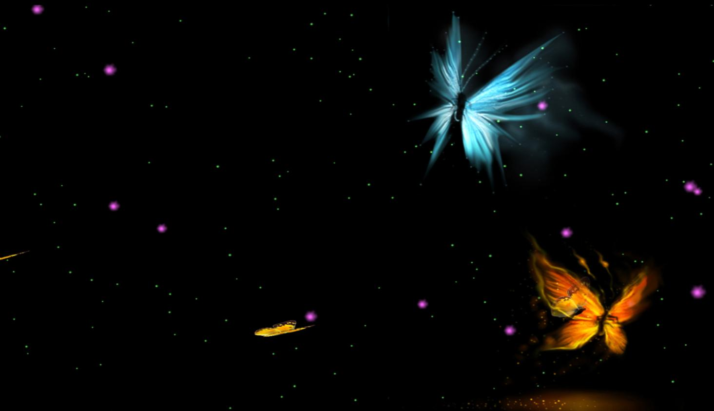 Animated Butterfly Wallpaper Fantastic Butterfly Screensaver