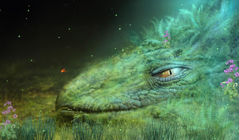 Fantasy Creature Screensaver