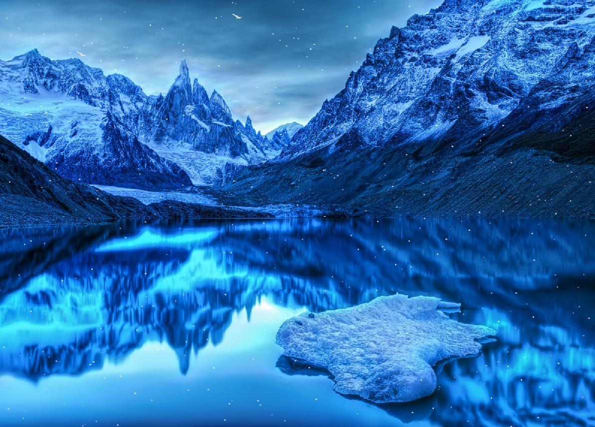 Frozen Antarctic Screensaver