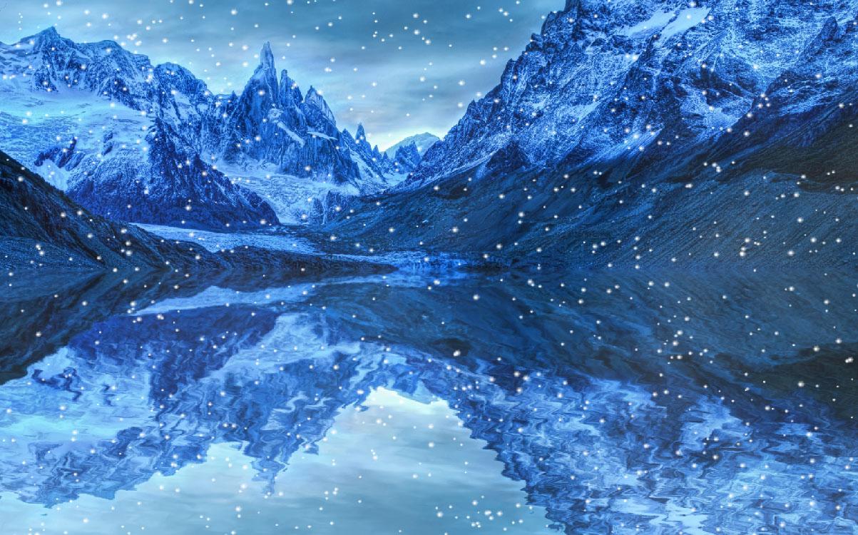 Frozen Places Screensaver