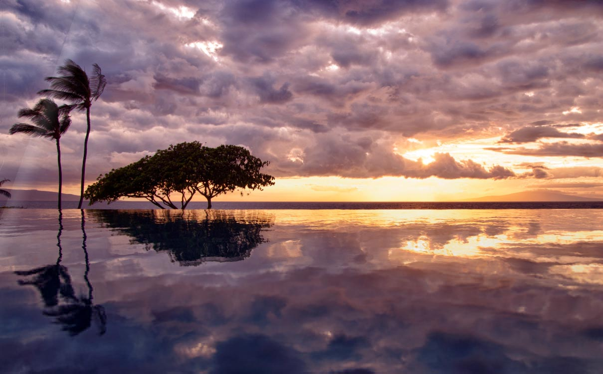 Infinity Pools Screensaver