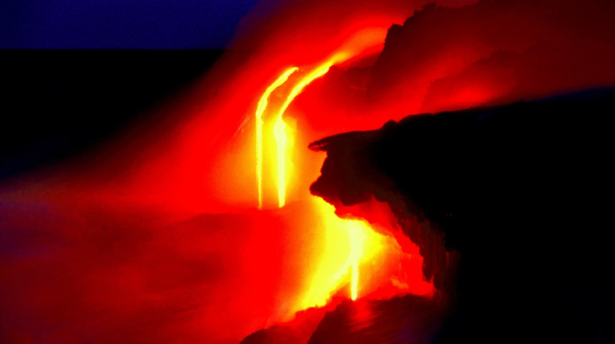 Lava Flows Screensaver
