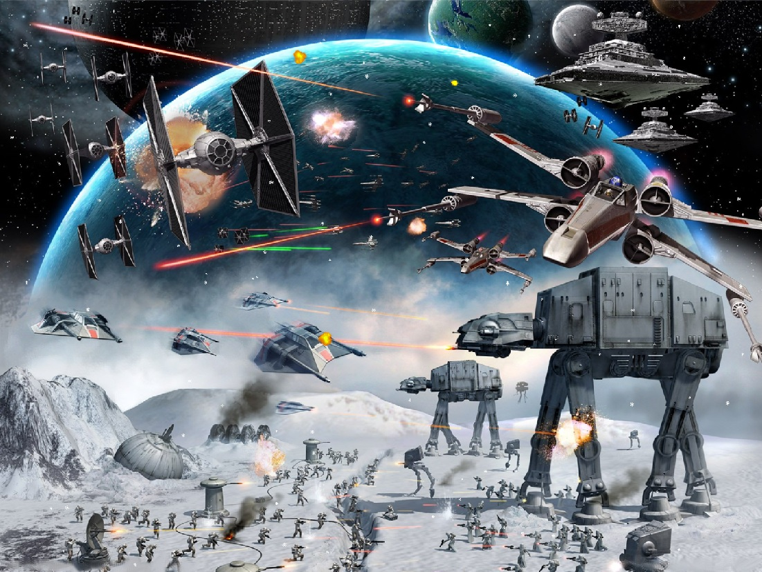 Star Wars Animated Screensaver
