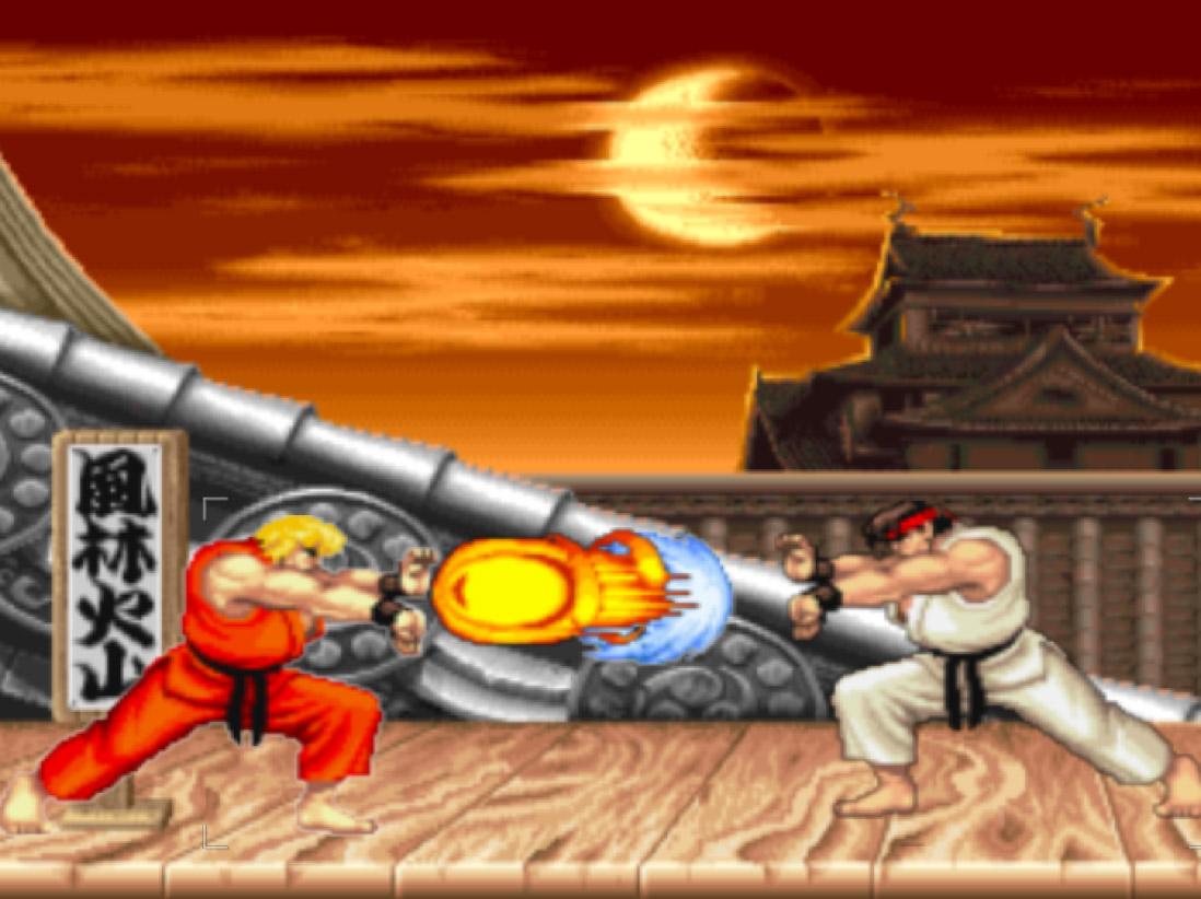 Street Fighter II Screensaver