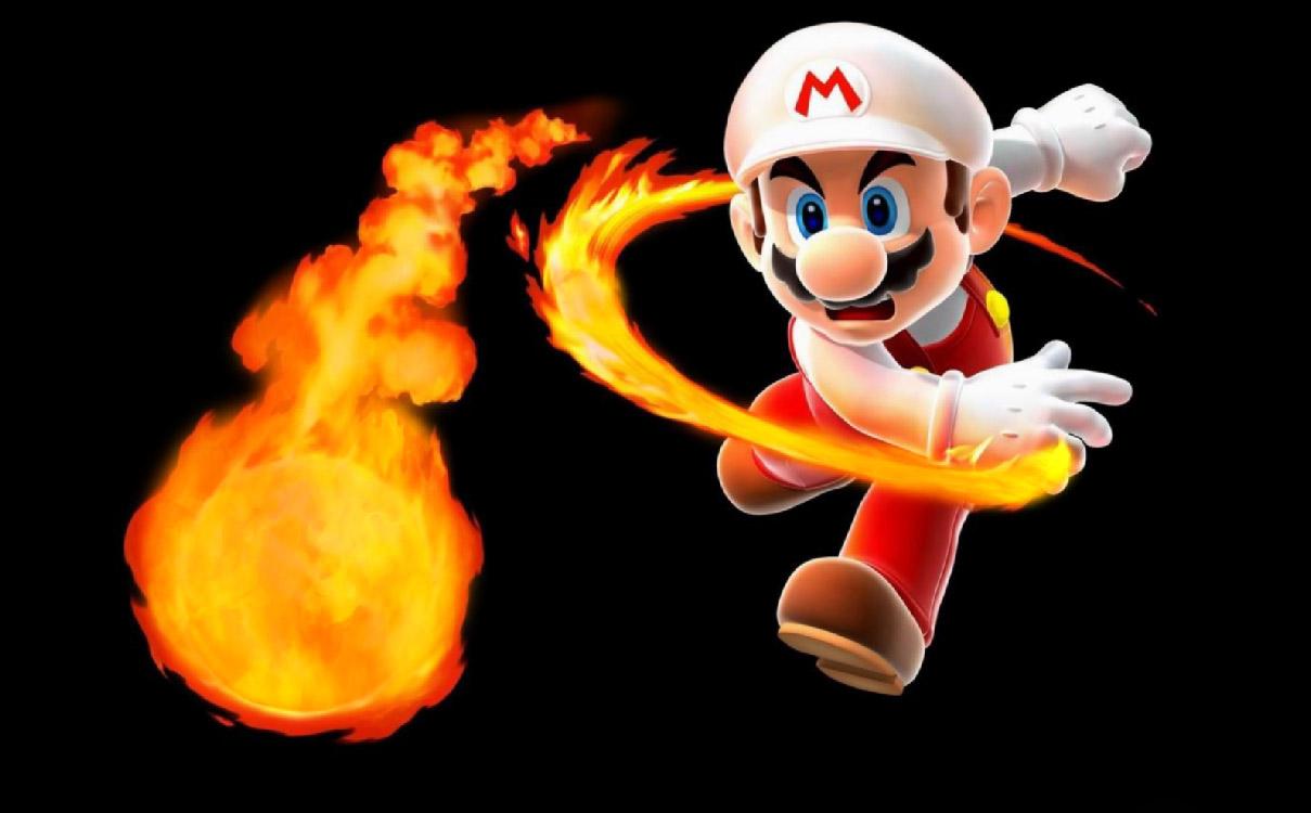 Super Mario Screensaver