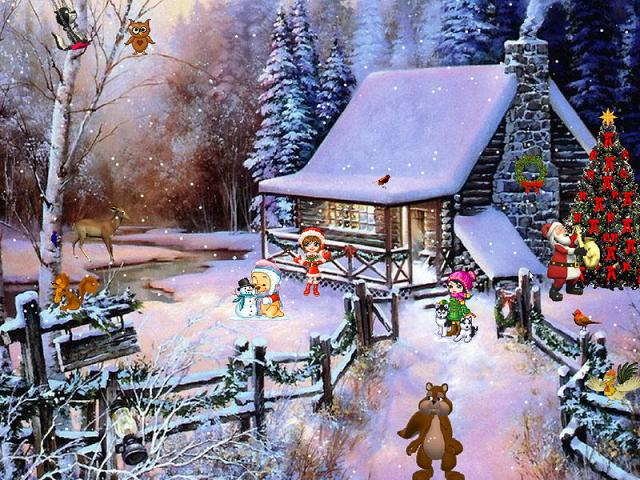 Snow Village 3d Live Wallpaper And Screensaver Christmas Adventure Screensaver The Best Screensavers