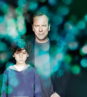 David Mazouz and Kiefer Sutherland in Touch (Image © Fox Broadcasting Company)