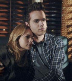 Britt Robertson as Cassie Blake and Thomas Dekker as Adam Conant (Photo © CW)