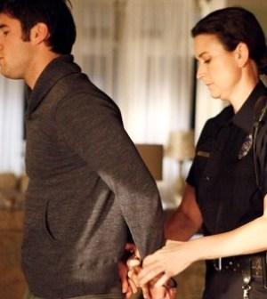 The finger of blame finds Daniel on Revenge. Image © ABC Television Network