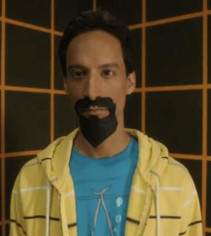 Danny Pudi as Evil Abed (Image © NBC)