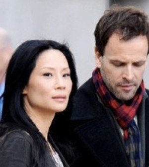 Lucy Liu and Johnny Lee Miller on CBS' Elementary.