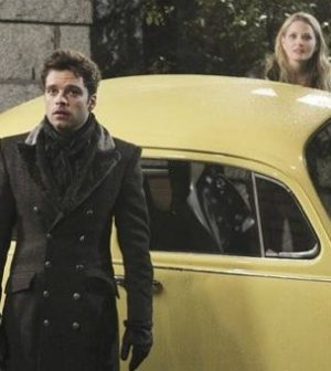 ONCE UPON A TIME: Sebastian Stan and Jennifer Morrison. Photo credit ABC/Jack Rowland.