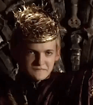Jack Gleeson as Joffrey Baratheon in Game of Thrones (Image © HBO. All Rights Reserved.)