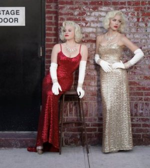 Megan Hilty as Ivy Lynn, Katharine McPhee as Karen Cartwright -- (Photo by: Mark Seliger/NBC)