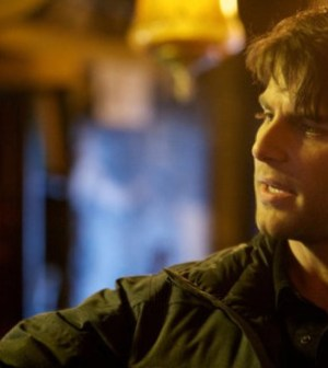 """GRIMM — """"Cat and Mouse"""" Episode 118 — Pictured: David Giuntoli as Nick Burkhardt — (Photo by: Scott Green/NBC)"""