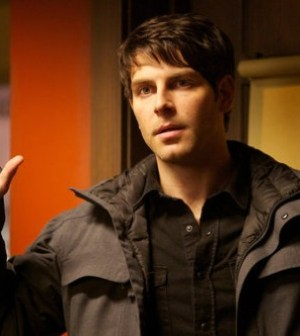 """GRIMM -- """"Cat and Mouse"""" Episode 118 -- Pictured: David Giuntoli as Nick Burkhardt -- (Photo by: Scott Green/NBC)"""