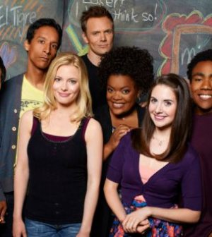 The cast of NBC's COMMUNITY. Photo by: Mitchell Haaseth/NBC