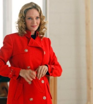 "SMASH — ""The Movie Star"" Episode 111 — Pictured: Uma Thurman as Rebecca Duvall — (Photo by: Will Hart/NBC)"